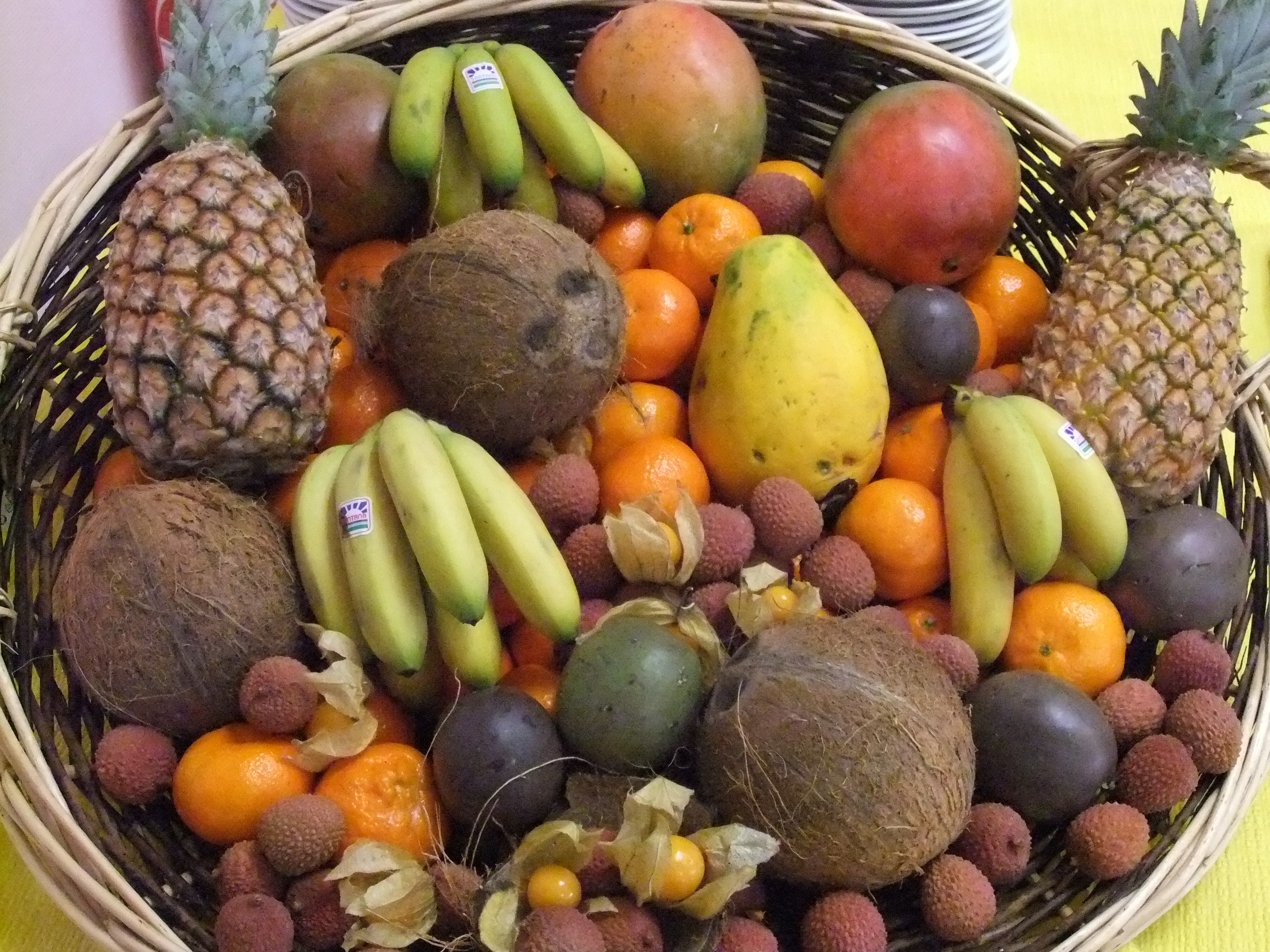 Pin fruits exotiques on pinterest - Image fruit exotique ...