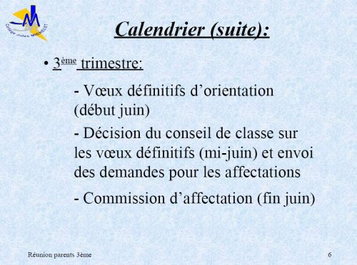 Diaporama Support De La Réunion Parent Professeurs