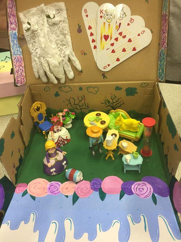 Les élèves De 6e Réalisent Des Boites à Conte Site Du Collège