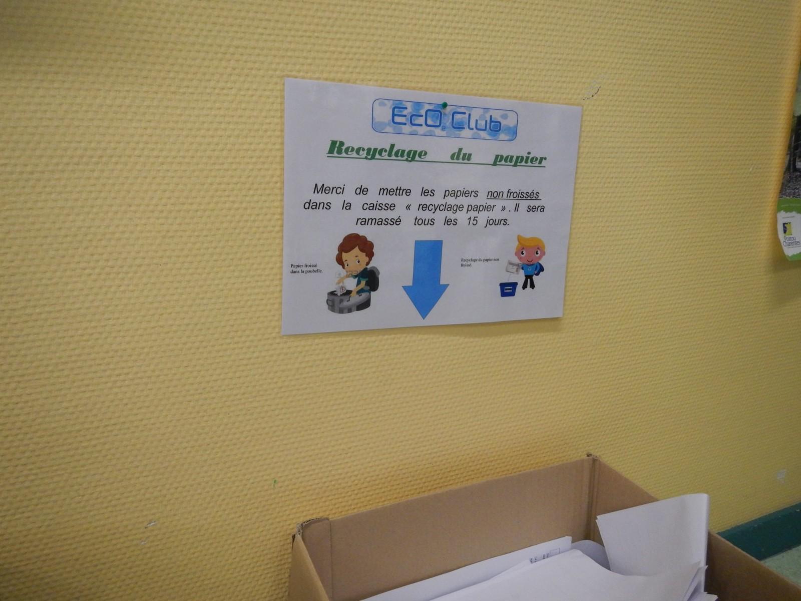 Eco club du mardi atelier recyclage du papier site - Tri papier administratif ...