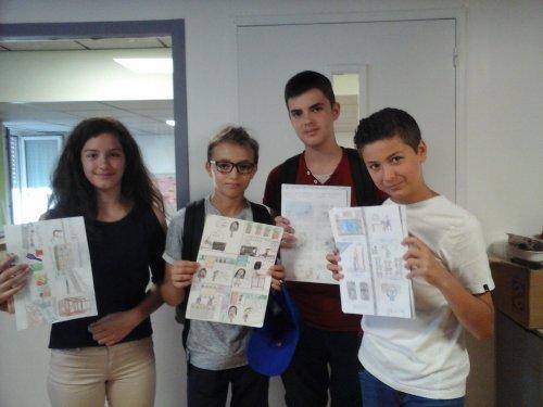 Concours De Bd En Espagnol College Rene Caillie Saintes Pedagogie Academie De Poitiers