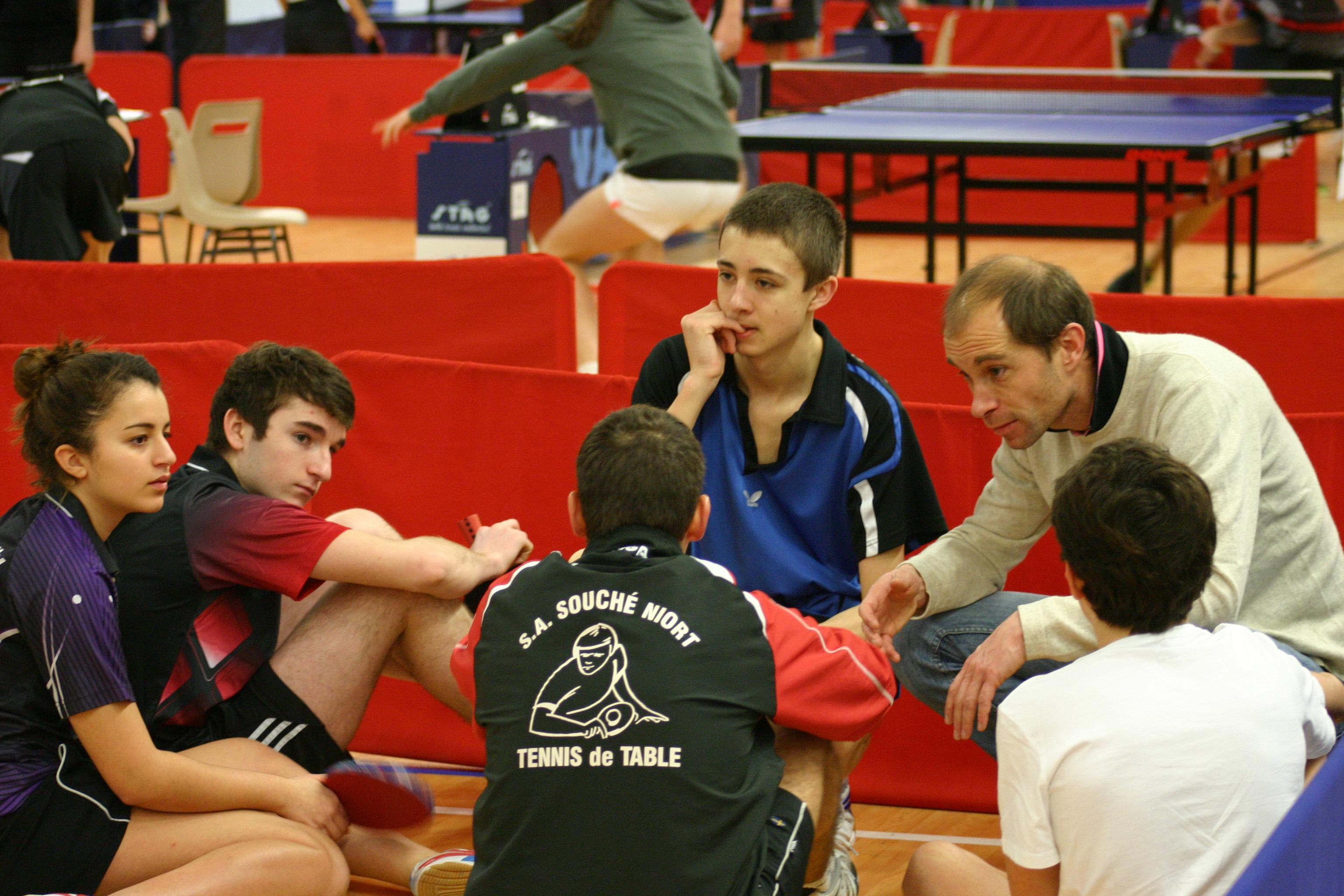 Tennis de table le lyc e paul guerin vice champion de france unss 2014 lyc e paul gu rin - Champion de france tennis de table ...